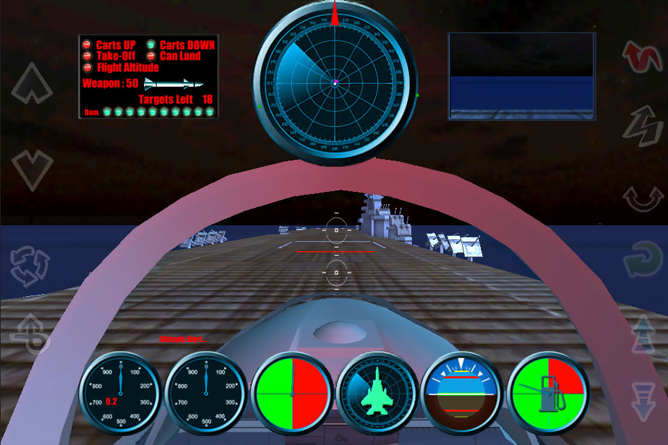 Screenshot F15 FLYING BATTLE
